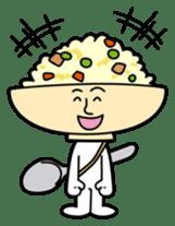 Fried rice cha-san sticker #155971