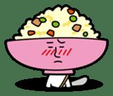 Fried rice cha-san sticker #155974