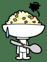 Fried rice cha-san sticker #155975