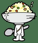 Fried rice cha-san sticker #155978
