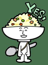 Fried rice cha-san sticker #155980