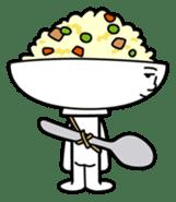 Fried rice cha-san sticker #155985