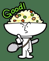 Fried rice cha-san sticker #155986