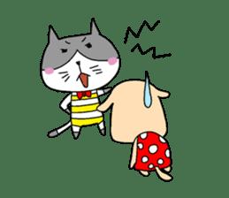 Cat and Dog sticker #156356