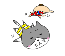Cat and Dog sticker #156361