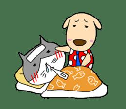 Cat and Dog sticker #156370