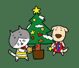 Cat and Dog sticker #156379
