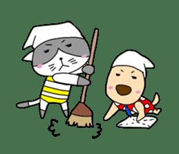 Cat and Dog sticker #156387