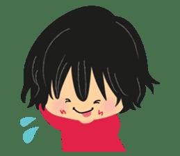 Menoko&Chiro sticker #156799