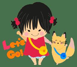 Menoko&Chiro sticker #156824
