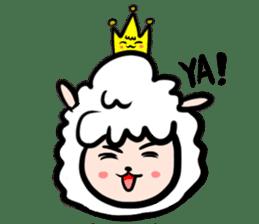 GLAD KING - ALPACA sticker #156878