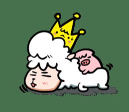 GLAD KING - ALPACA sticker #156890