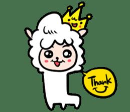 GLAD KING - ALPACA sticker #156908