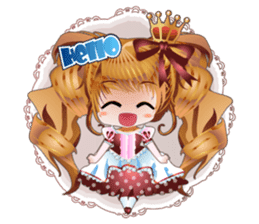 Princess Story sticker #156994