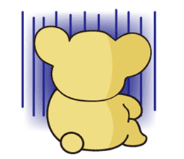 Little bear Colon sticker #157018