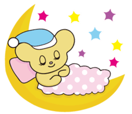 Little bear Colon sticker #157032