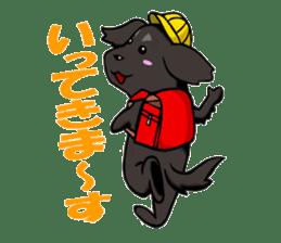 Every day of pet dog jazz sticker #157322