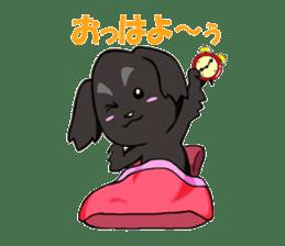 Every day of pet dog jazz sticker #157324