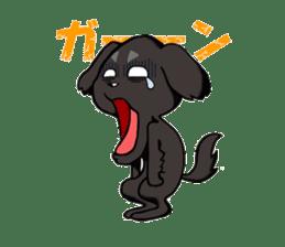 Every day of pet dog jazz sticker #157326