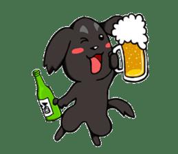Every day of pet dog jazz sticker #157328