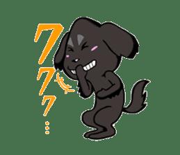 Every day of pet dog jazz sticker #157338