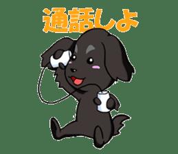 Every day of pet dog jazz sticker #157354
