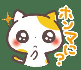 Cute Cats Japanese Kansai Words Stickers sticker #157398