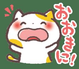 Cute Cats Japanese Kansai Words Stickers sticker #157422