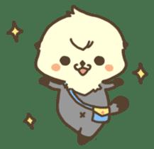 Rattan of a sea otter 2 sticker #157676