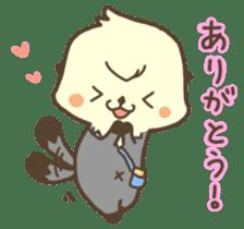 Rattan of a sea otter 2 sticker #157680