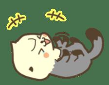 Rattan of a sea otter 2 sticker #157684