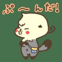 Rattan of a sea otter 2 sticker #157693