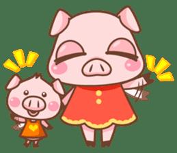 Pigmi and Butaman sticker #157755