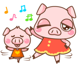 Pigmi and Butaman sticker #157774