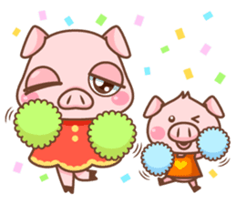 Pigmi and Butaman sticker #157788