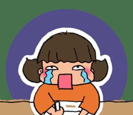 """cute girl """"Mutchy"""" sticker #158118"""