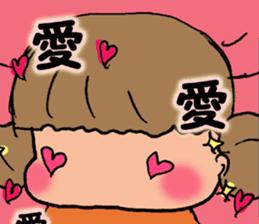 """cute girl """"Mutchy"""" sticker #158119"""