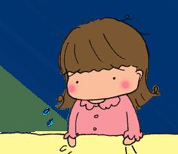 """cute girl """"Mutchy"""" sticker #158139"""
