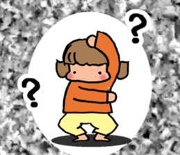"""cute girl """"Mutchy"""" sticker #158144"""