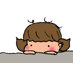 """cute girl """"Mutchy"""" sticker #158146"""