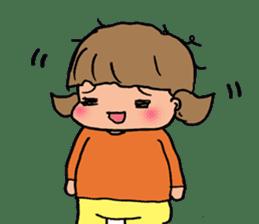 """cute girl """"Mutchy"""" sticker #158148"""