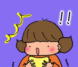 """cute girl """"Mutchy"""" sticker #158151"""
