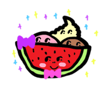 BABU series NO.32 WATERMELON sticker #158315