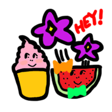 BABU series NO.32 WATERMELON sticker #158316