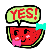BABU series NO.32 WATERMELON sticker #158317