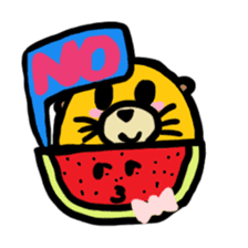 BABU series NO.32 WATERMELON sticker #158318