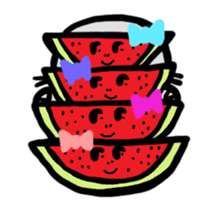 BABU series NO.32 WATERMELON sticker #158323