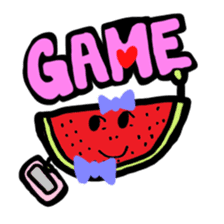 BABU series NO.32 WATERMELON sticker #158332