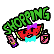 BABU series NO.32 WATERMELON sticker #158338