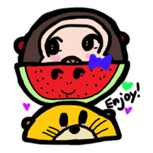 BABU series NO.32 WATERMELON sticker #158341